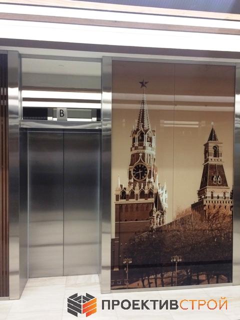 Облицовка лифта из нержавейки
