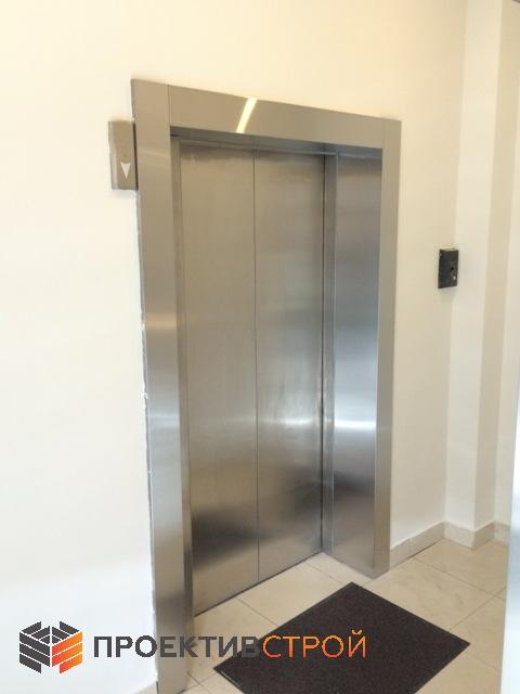 Облицовка двери лифта