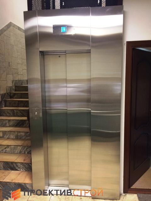 Декоративная отделка лифта